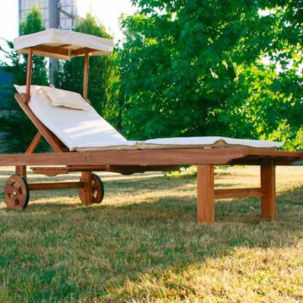 Longue moderne e palosshme e karriereve në natyrë të bërë nga dru tik