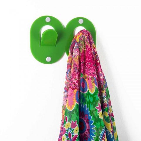 3 Varëse muri në dizajn dyfishtë italian me plexiglas me ngjyra - Kapëse