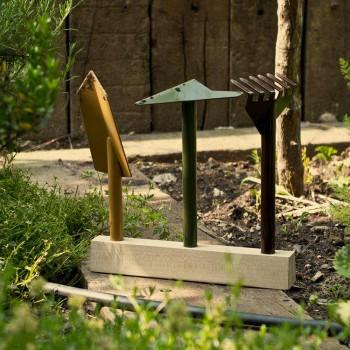 3 Vegla të kopshtarisë metalike me bazë druri të bëra në Itali - Kopsht