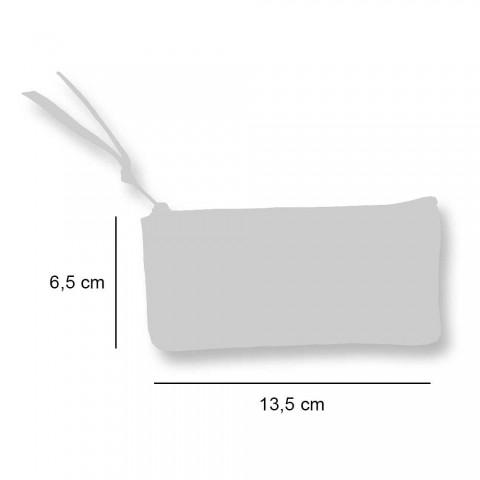 3 Rrathë pambuku të punuar me dorë të lartë - Viadurini nga Marchi