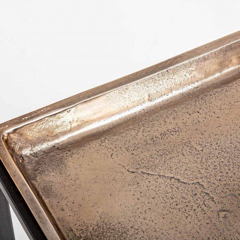 3 tabela katrore kafeje në lëvizje alumini dhe çeliku - Quinzio