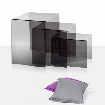 3 pllaka përputhen me pllaka amalia, dizajn modern, të bëra në Itali