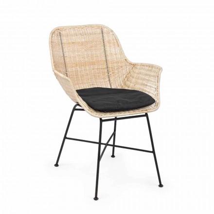 4 Karrige në natyrë në Homemotion me thurje dhe çelik të endur - Berecca
