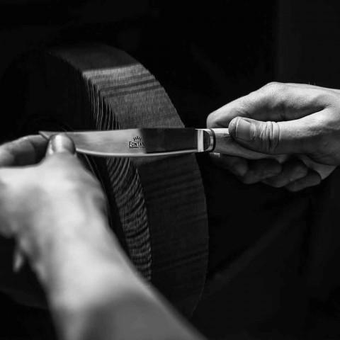 6 thika biftek ergonomike me teh çeliku të prodhuara në Itali - peshkaqen