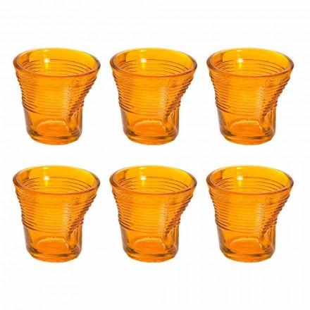 12 gota kafeje Qelqi i projektuar me ngjyra të thërrmuara - Sarabi