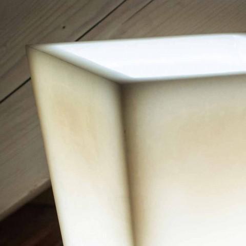Abat-jour në Dizajnin me efekt të gërvishtur nga dylli të bërë në Itali - Monia