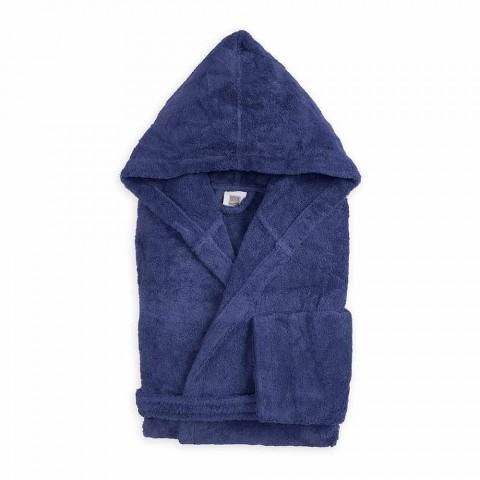 Bathrobe shumëngjyrëshe me kapuç luksoz në pambuku - Vuitton