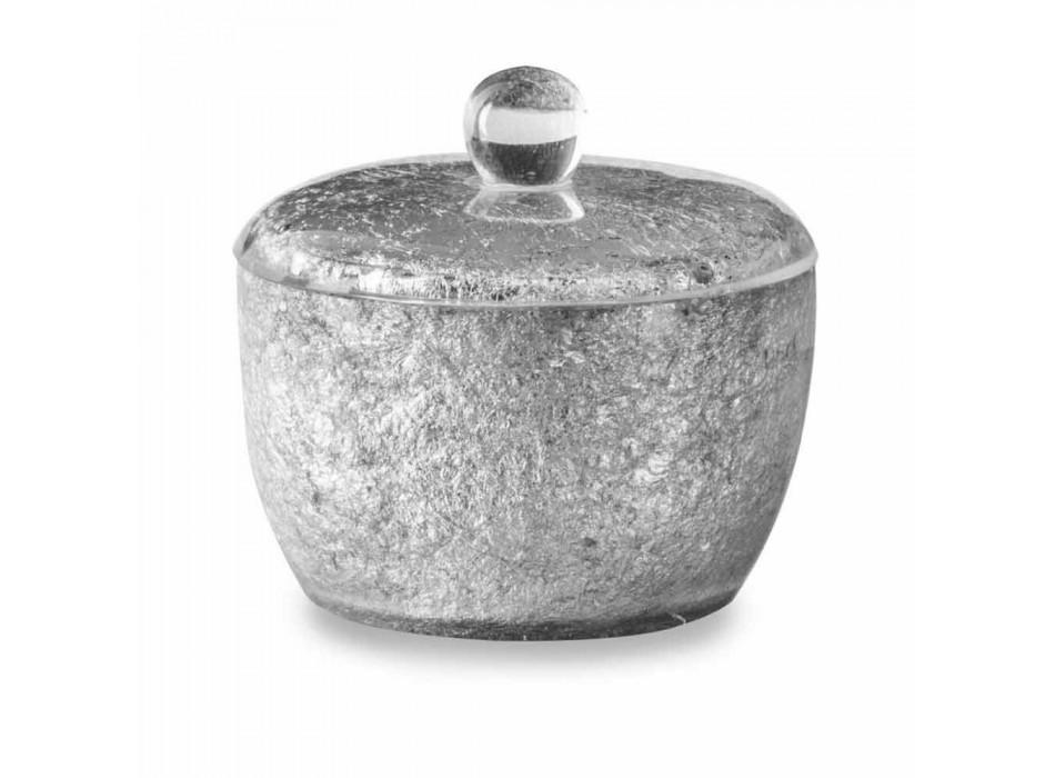Aksesorë banjo në rrëshirë të veshura me fletë argjendi - argjentinase