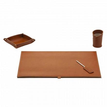 Aksesorë për tavolinën e stilistëve në lëkurë të lidhur, 4 copë - Aristotel