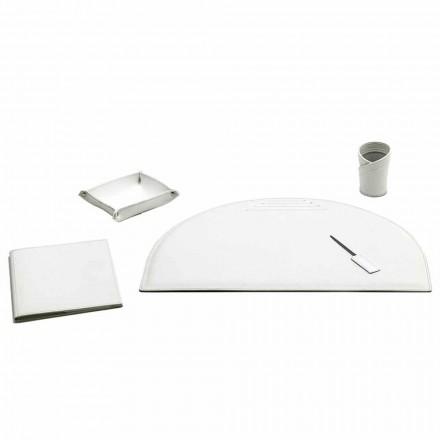 Seti i 5 aksesorëve të Deskave për Lëkurë, Made in Italy - Medea