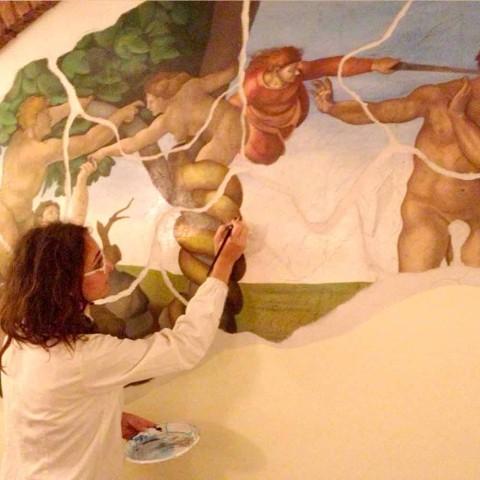 Freskot dhe pikturat e personalizuara
