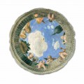 Afrika e tavanit Oculus nga Andrea Mantegna