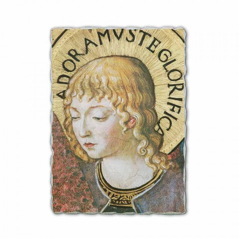 """Fresco Benozzo Gozzoli """"Kori i engjëjve në adhurim"""" -1454"""