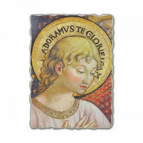 """Fresco Benozzo Gozzoli """"Koret e engjëjve në adhurim"""""""