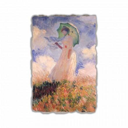 Grua me një cadër, duke u përballur majtas nga Claude Monet