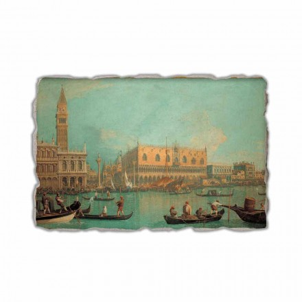 Një pamje e Pallatit Dukal në Venecia nga Canaletto