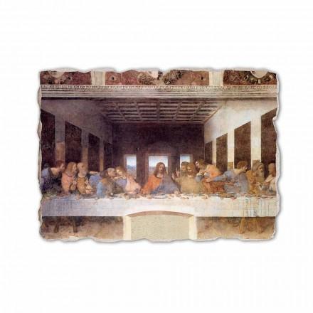 Darka e Fundit nga Leonardo da Vinci, afresk i pikturuar me dorë