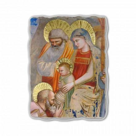 Adhurimi i Magit nga Giotto, afresk i pikturuar me dorë