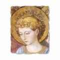Adhurimi dhe këndimi i afreskut Angels nga Benozzo Gozzoli