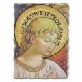 Adhurimi dhe këndimi i afreskut Angels nga B. Gozzoli, me madhësi të madhe