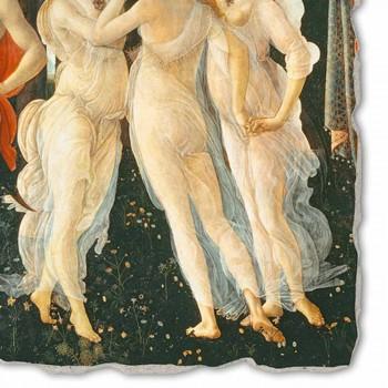 "afresk i madh Botticelli pjesë ""Aleanca e pranverës""."