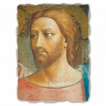 The Tribute Money by Masaccio, me përmasa të mëdha, të bëra në Itali