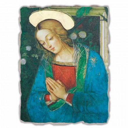 Lindja e lindjes nga Pinturicchio, afresku i pikturuar me dorë, përmasa të mëdha