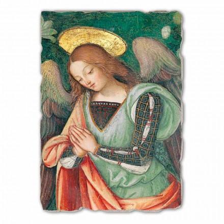 Lindja (detaji i Engjëllit) afresk i pikturuar me dorë, me madhësi të madhe