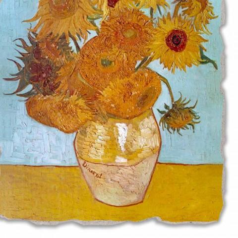 """""""Vazo luledielli"""" të punuar me dorë të afreskut të madh Vincent Van Gogh"""