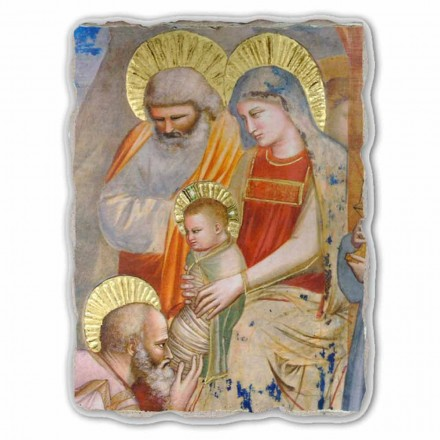 Adhurimi i Magit nga Giotto, me madhësi të madhe