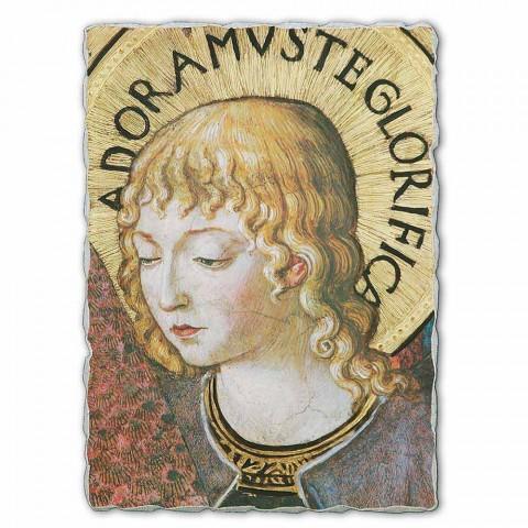 """afresk i madh Gozzoli """"Koret e engjëjve në adhurim"""" -1454"""
