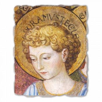 """afreske e madhe Gozzoli """"Koret e engjëjve në adhurim"""" - 1454 ca"""