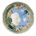 Afrika e tavanit Oculus nga Andrea Mantegna, me madhësi të madhe