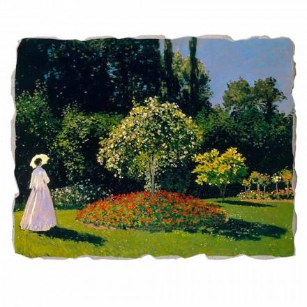 Grua në kopsht nga Claude Monet, me madhësi të madhe