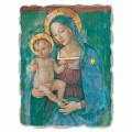 Afreska Madonna with Child nga Pinturicchio, me madhësi të madhe
