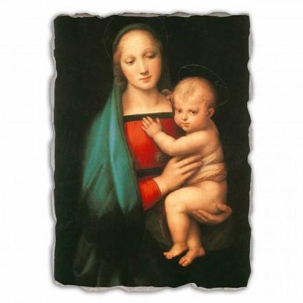 Madonna del Granduca nga Rapahel, afresk i pikturuar me dorë