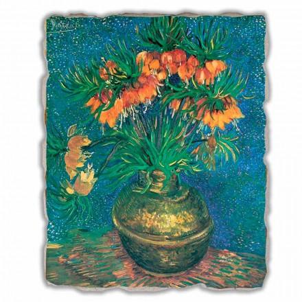 Fritilare në një vazo bakri nga V. Van Gogh, me madhësi të madhe