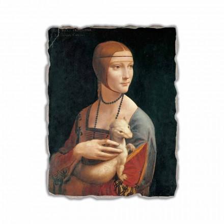 Zonja me një Ermine nga Leonardo da Vinci, e bërë në Itali