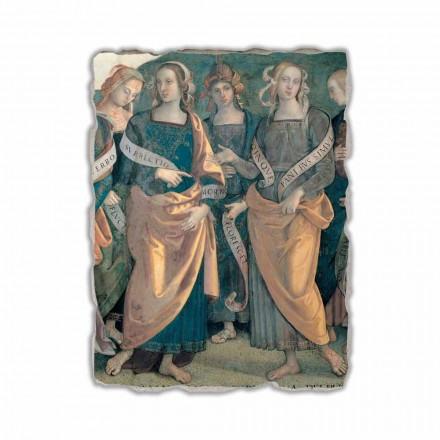 Eterno tra Angeli, afreska e Profeti e Sibille (detaje)