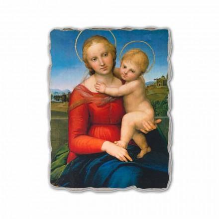Madonna e vogël Cowper nga Raphael, afresk i pikturuar me dorë