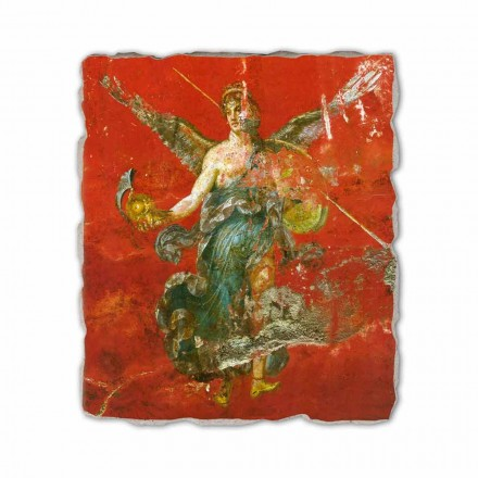 Cikli i Muses (detaje), afreska romake