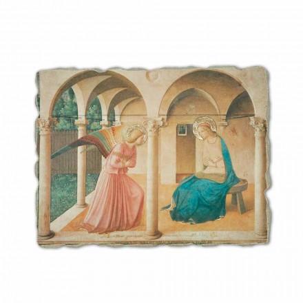 Shpallja nga Fra Angelico, afresk i pikturuar me dorë