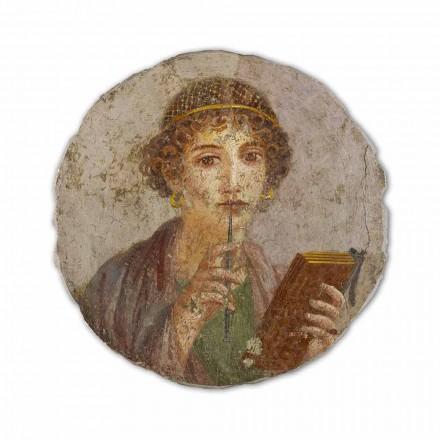 Poezia, arti romak, afresku i pikturuar me dorë