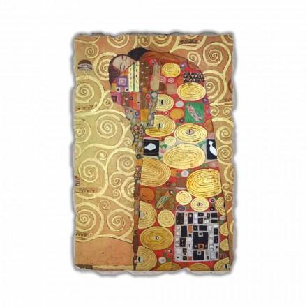 Përmbushja (Përqafimi) nga Gustav Klimt