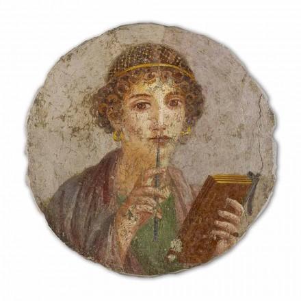 Poezia, arti romak, afresku i pikturuar me dorë, përmasa të mëdha