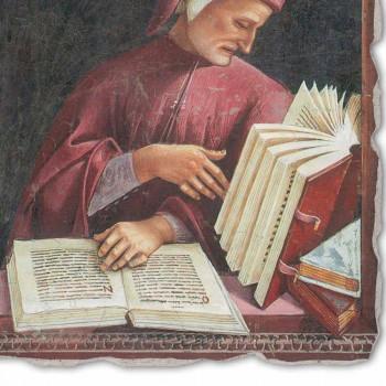 "Riprodhimi i afreskut të Luca Signorelli ""Dante Alighieri"" 1499-1502"