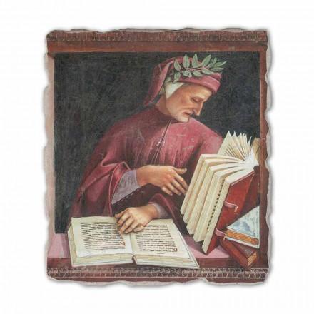 Dante Alighieri nga Luca Signorelli, afresk i pikturuar me dorë