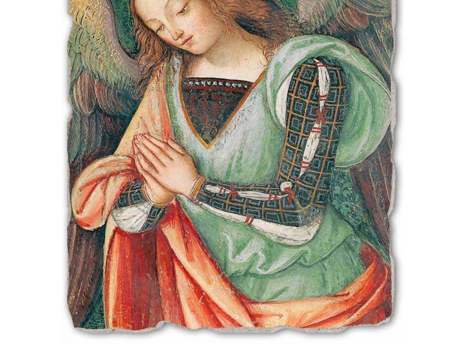 """Fresco Pinturicchio luajnë pjesën """"Lindja"""". engjëll"""