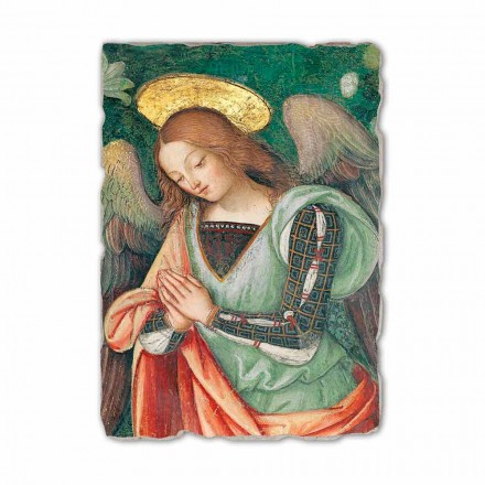 Afreska e lindjes (detaji i Engjëllit) nga Pinturicchio