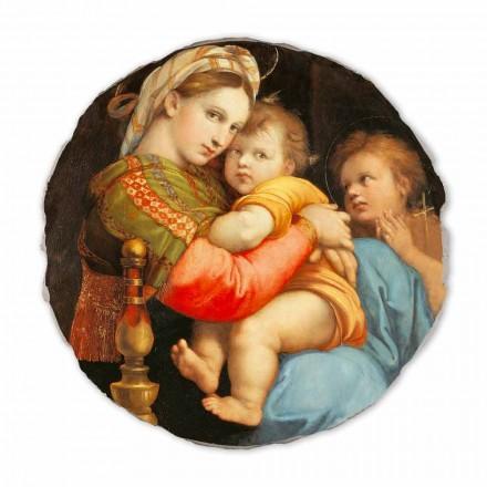 Madonna della Seggiola nga Raphael, afresk i pikturuar me dorë